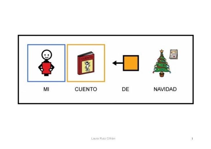 Anticipar las Navidades con pictogramas