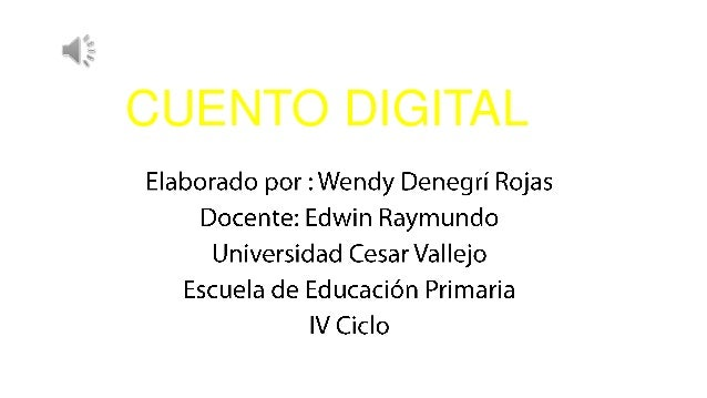 CUENTO DIGITAL