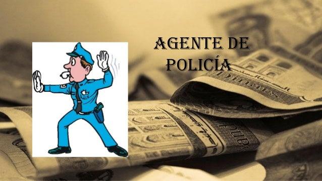 agente de policía