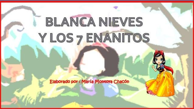 Elaborado por : María Montoya Chacón