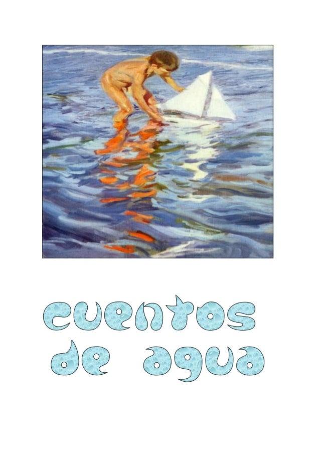 CUENTOS DE AGUA