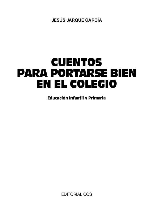 Página web de EDITORIAL CCS: www.editorialccs.com © Jesús Jarque García © 2007. EDITORIAL CCS, Alcalá, 166 / 28028 MADRID ...
