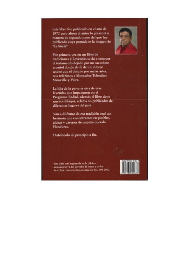 Cuentos y leyendas de honduras, jorge montenegro Slide 2