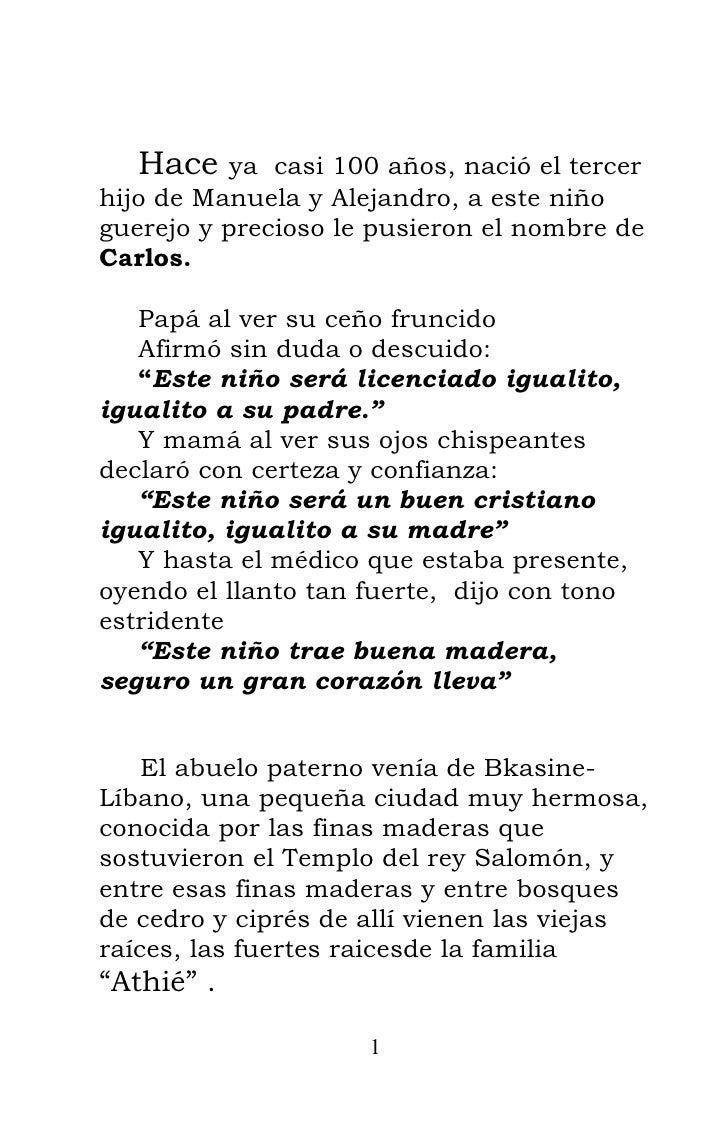 Hace   ya casi 100 años, nació el tercer hijo de Manuela y Alejandro, a este niño guerejo y precioso le pusieron el nombre...