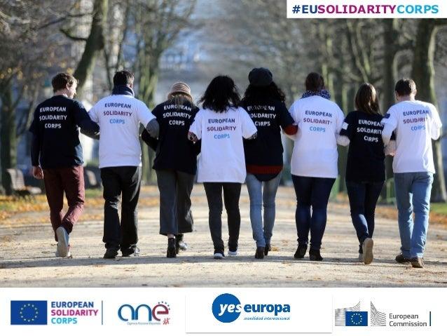 #EUSOLIDARITYCORPS