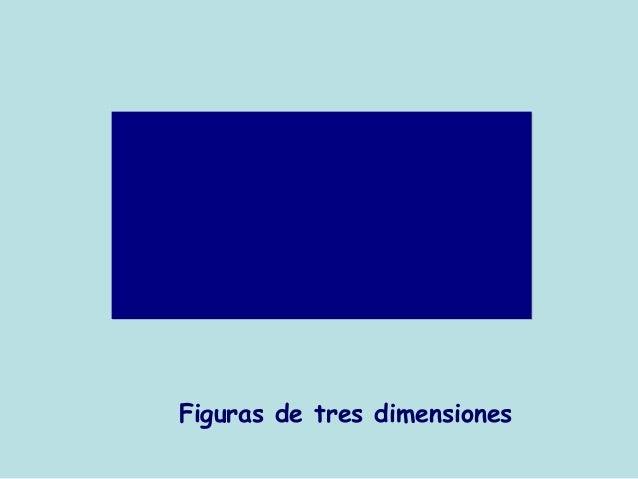 Figuras de tres dimensiones