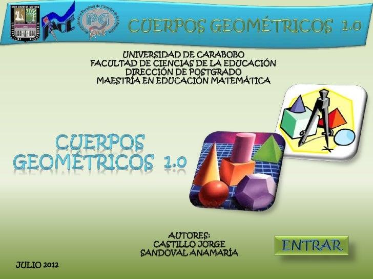 UNIVERSIDAD DE CARABOBO             FACULTAD DE CIENCIAS DE LA EDUCACIÓN                   DIRECCIÓN DE POSTGRADO         ...