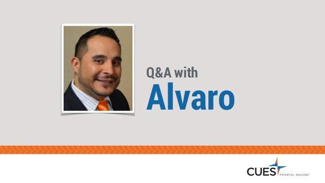 Q&A with Alvaro
