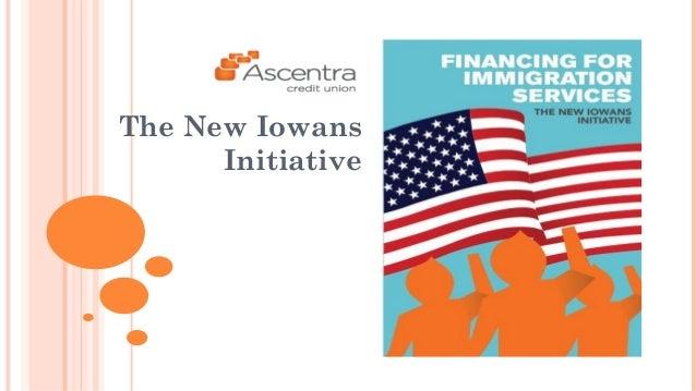 The New Iowans  Initiative