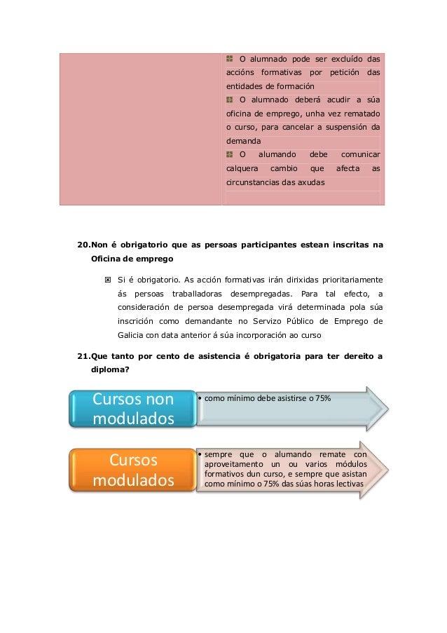Cuestionario de la orden afd grupo 2 for Oficina de emprego galicia