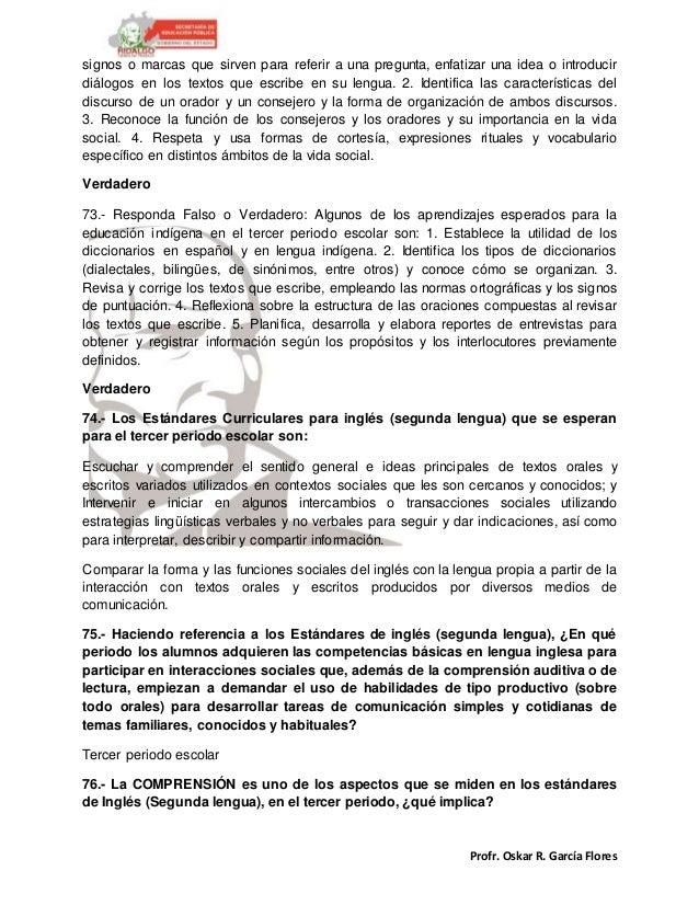 Profr. Oskar R. García Flores signos o marcas que sirven para referir a una pregunta, enfatizar una idea o introducir diál...