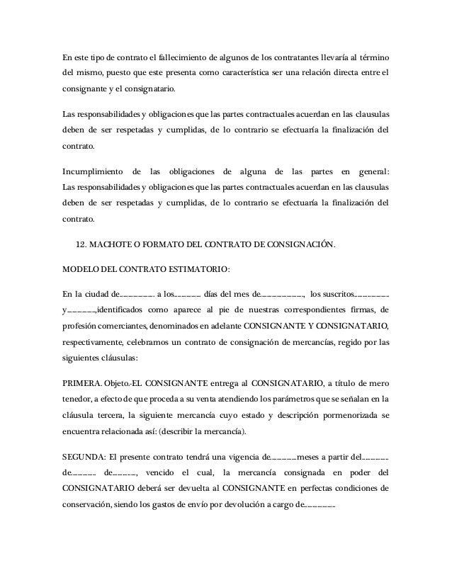 Contratos Mercantiles Cuestionario 07 Contrato