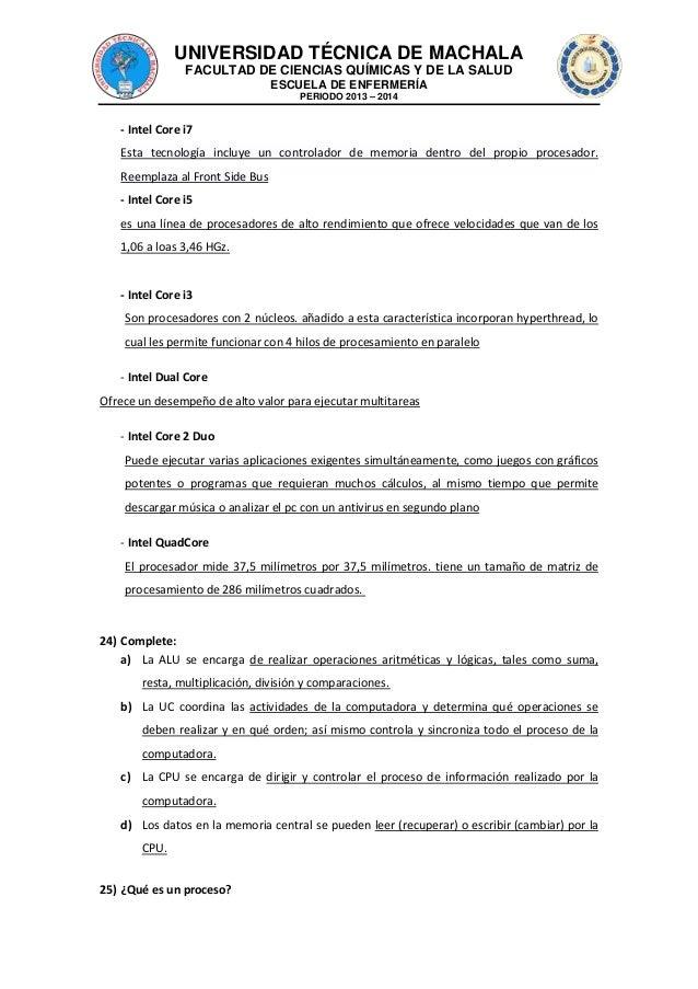 UNIVERSIDAD TÉCNICA DE MACHALA FACULTAD DE CIENCIAS QUÍMICAS Y DE LA SALUD ESCUELA DE ENFERMERÍA PERIODO 2013 – 2014  - In...