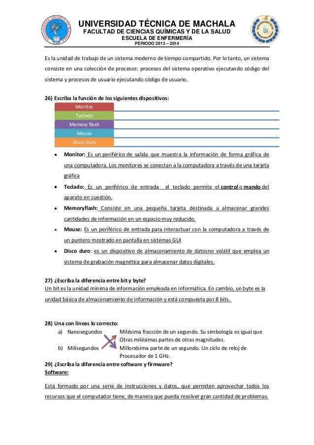 UNIVERSIDAD TÉCNICA DE MACHALA FACULTAD DE CIENCIAS QUÍMICAS Y DE LA SALUD ESCUELA DE ENFERMERÍA PERIODO 2013 – 2014  Es l...