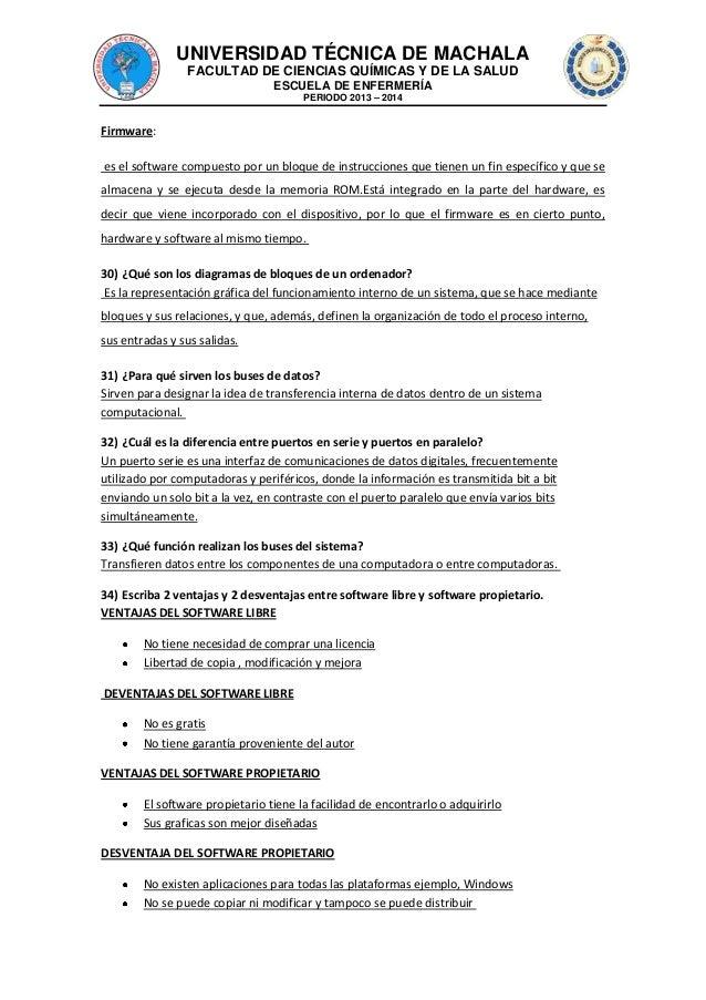 UNIVERSIDAD TÉCNICA DE MACHALA FACULTAD DE CIENCIAS QUÍMICAS Y DE LA SALUD ESCUELA DE ENFERMERÍA PERIODO 2013 – 2014  Firm...