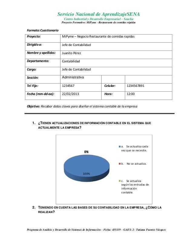 Cuestionario jefe contabilidad