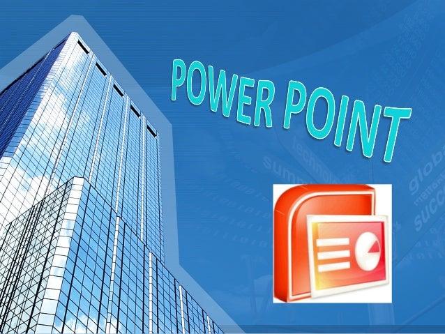 POWER POINT ES UN PROGRAMA DISEÑADO PARA HACER PRESENTACIONES CON TEXTO ESQUEMATIZADO POWER POINT ES UN PROGRAMA DISEÑADO ...