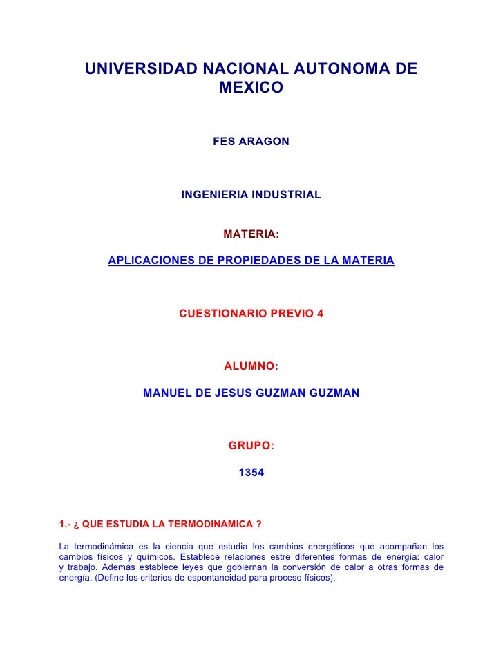 UNIVERSIDAD NACIONAL AUTONOMA DE                   MEXICO                                    FES ARAGON                   ...