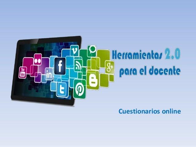 Cuestionarios online