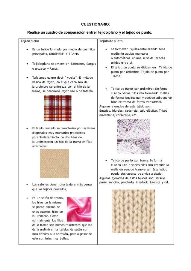 9b940f2801c2 textil tejido punto tejido plano
