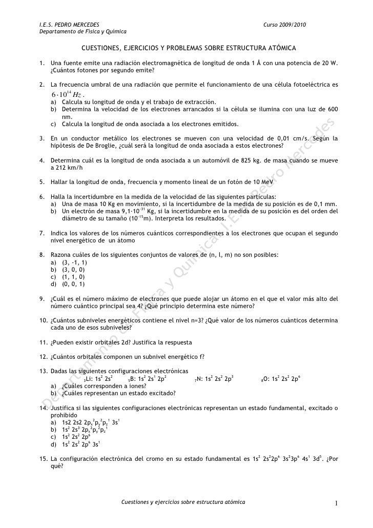 I.E.S. PEDRO MERCEDES                                                            Curso 2009/2010 Departamento de Física y ...