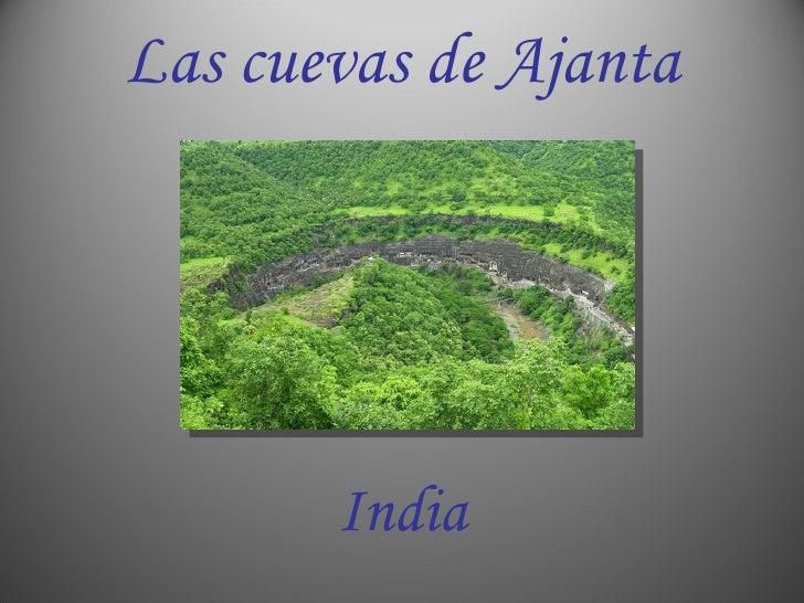 Las cuevas de Ajanta India
