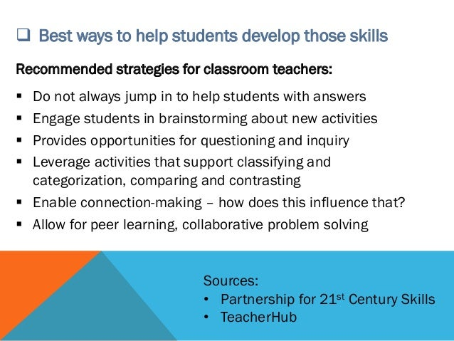 Collaborative Problem Solving Responsive Classroom ~ Making critical thinking real with digital content cue
