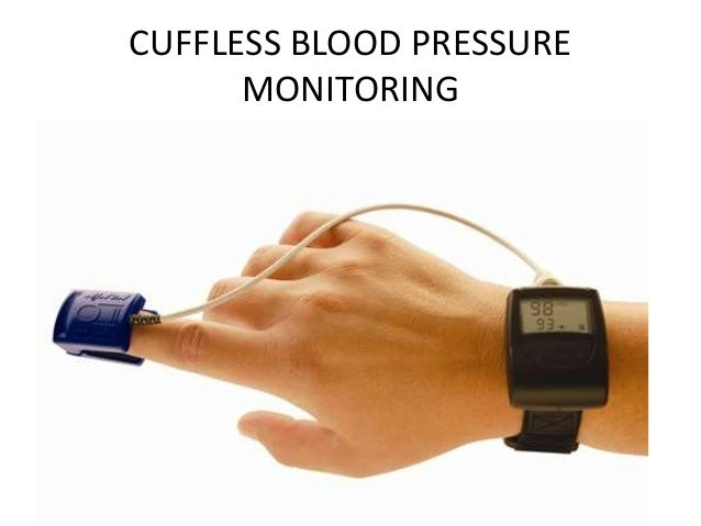 Continuous Blood Pressure Monitor For Home Use