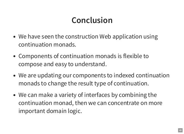 essay on monads A tale of two monads: category-theoretic and computational  by composition  of endofunctors and unit set by the identity endofunctor.