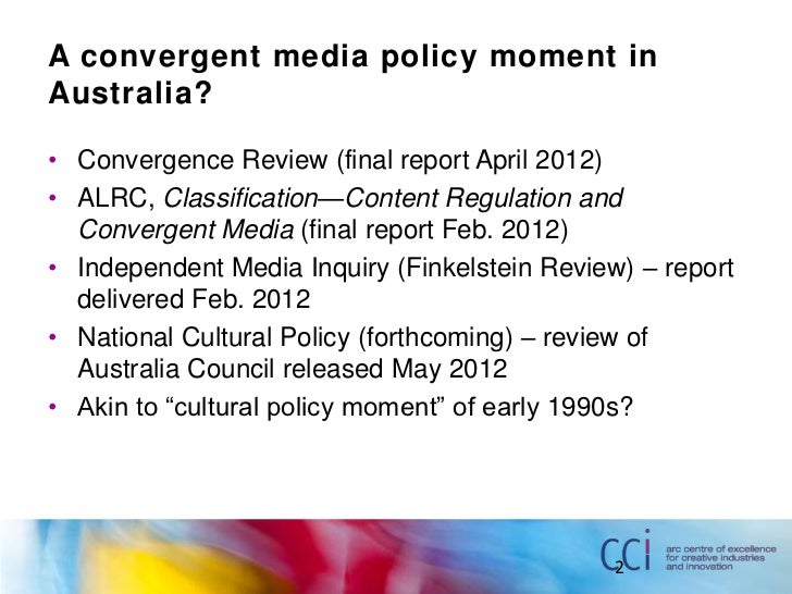 media convergance essay