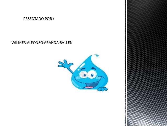 PRSENTADO POR : WILMER ALFONSO ARANDA BALLEN