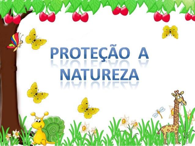 O0 0G 'a 6a_ O¡  . / x I ~       PROTEÇÃO A NATUREZA
