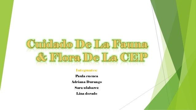 Integrantes: Paula cuencaAdriana Durango Sara ulabarez  Lina dorado
