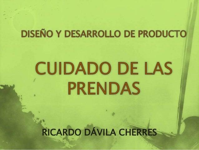 RICARDO DÁVILA CHERRES
