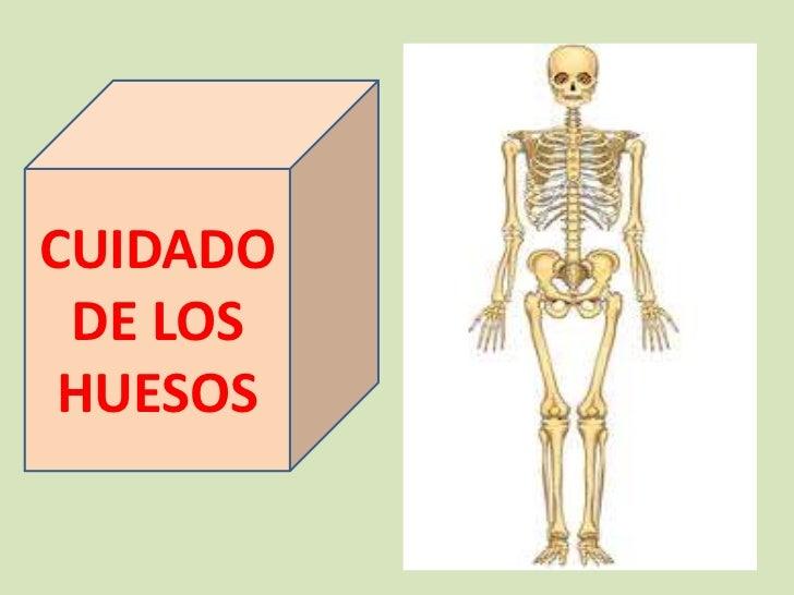 CUIDADO DE LOS HUESOS<br />