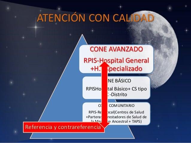 ATENCIÓN CON CALIDAD CONE AVANZADO  RPIS-Hospital General +H. Especializado CONE BÁSICO  RPISHospital Básico+ CS tipo C -D...