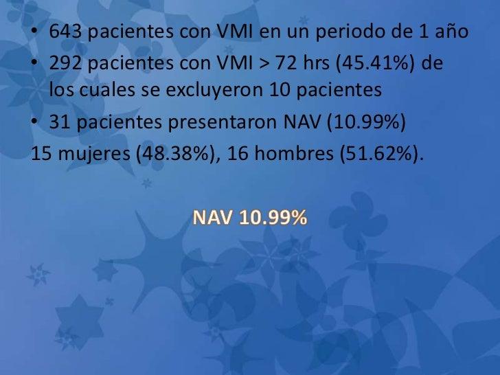 Neumonía asociada a la ventilación mecánica en una unidad