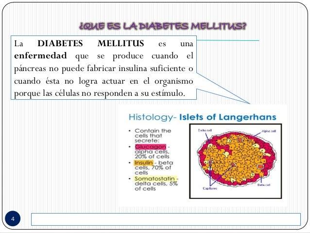 Cuidados de enf. en diabetes mellitus