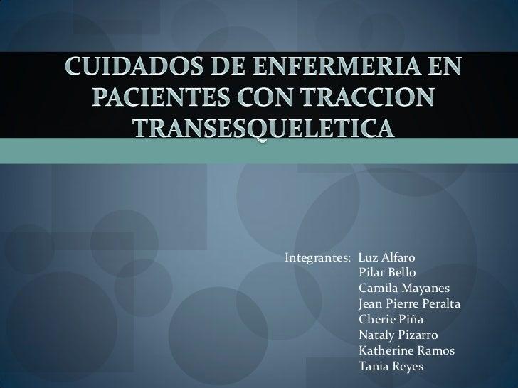 Integrantes: Luz Alfaro              Pilar Bello              Camila Mayanes              Jean Pierre Peralta             ...