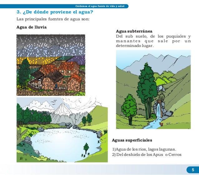 Cuidados para el agua for 5 cuidados del suelo