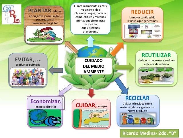 El Medio Ambiente: Cuidados Del Medio Ambiente
