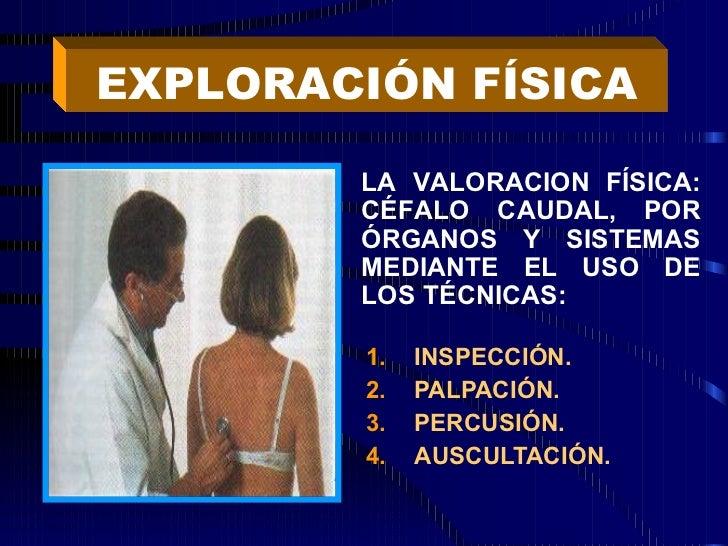 <ul><li>INSPECCIÓN. </li></ul><ul><li>PALPACIÓN. </li></ul><ul><li>PERCUSIÓN. </li></ul><ul><li>AUSCULTACIÓN. </li></ul>EX...