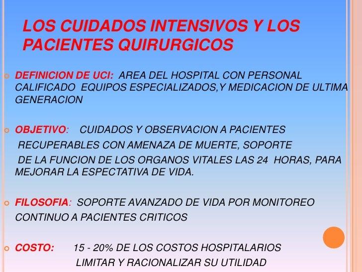 Cuidados intensivos quirúrgicos