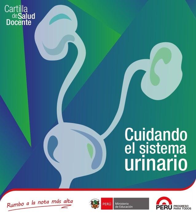 de Cartilla Docente Salud Cuidando el sistema urinario