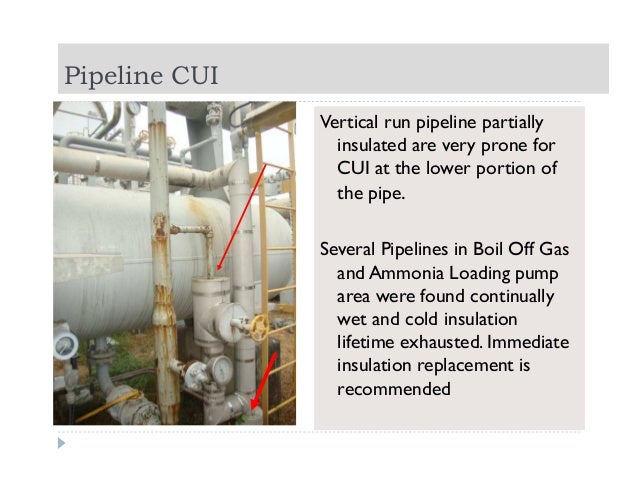 Corrosion Under Insulation Inspection In Ammonia Urea Plant