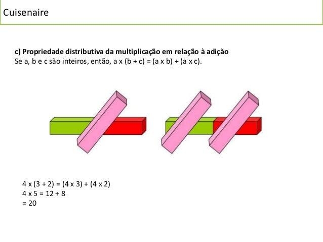 Cuisenaire  Divisão  Para dar a noção de divisão com o Material de Cuisenaire podemos proceder da  seguinte maneira:  Exem...
