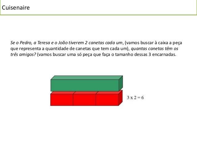Cuisenaire   A leitura de números   A criança para compreender o conceito de número e o valor de posição no sistema   indo...