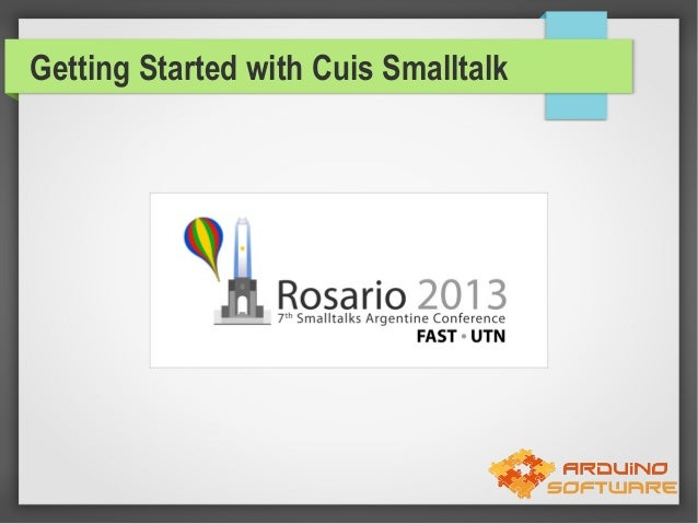 Getting Started with Cuis Smalltalk