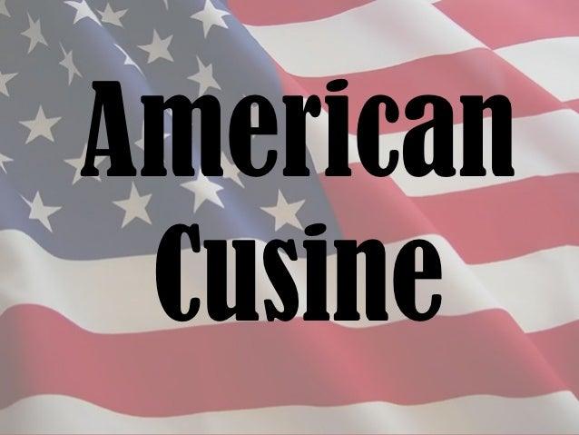 American Cusine