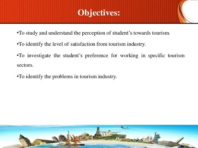 career perception of post graduate tourism students